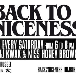 Back To Niceness 18/08/12 (Defi J in the mix)