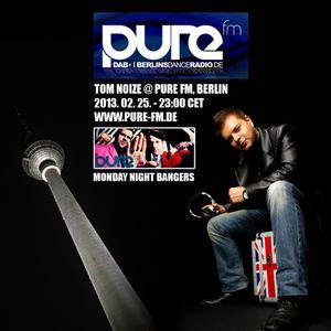 Tom Noize @ Pure FM on Monday Night Bangers