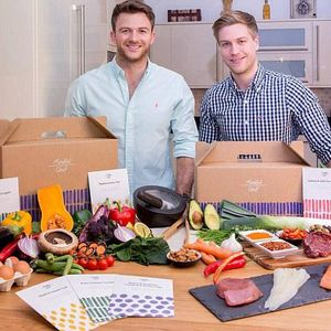 Myles Hooper and Giles Humphries from Mindful Chef talk through their healthy food delivery boxes.