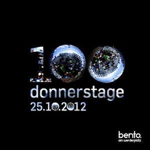 BENTO - 100xdonnerstag - 18djs in the mix - part 02