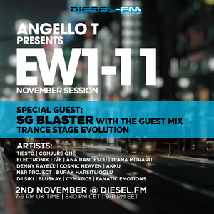 Angello T - Electronic Waves 1-11 with SG Blaster special guest