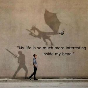 Frank Donner - My life is so much more interesting inside my head