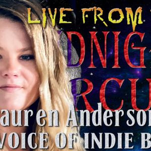 LIVE from the Midnight Circus With Lauren Anderson
