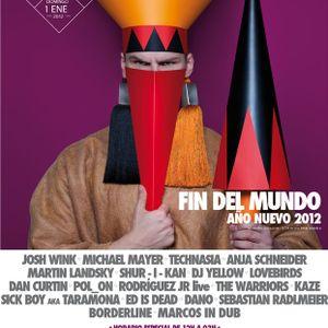 Shur-I-Kan @ GOA FIN DEL MUNDO AÑO NUEVO, Fabik, Madrid, Spain (01-01-2012)