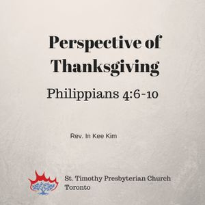 Perspective of Thanksgiving