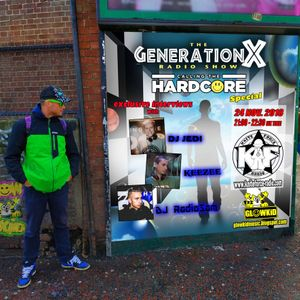 GL0WKiD Generation X [RadioShow] pres 'CALLING THE HARDCORE Special' @ Kniteforce Radio (24NOV.2018)