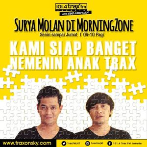 Surya Molan MorningZone TraxFMJKT 20 Juni 2016