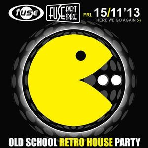 X-Ian at Oldschool Retro House Party at Fuse (Brussel-Belgium) - 15 November 2013