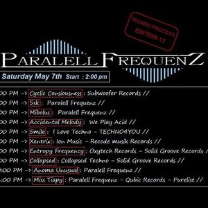 PARALELL FREQUENZ RADIO SHOW PODCAST 7 MAI 2016 BY MIBOLUS