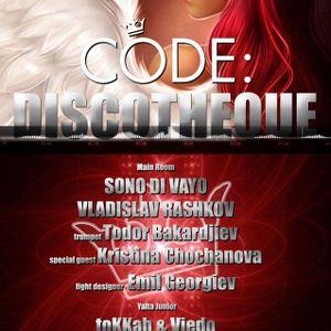 Sono Di Vayo - CODE: DISCOTHEQUE - YALTA CLUB - Bulgaria