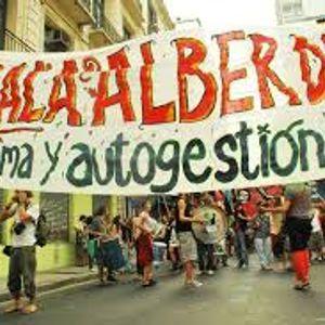 Balas de plomo en la represión y desalojo de la Sala Alberdi.