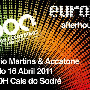 Piston Recordings Label Night @ Europa After Hours - April 2011 - Part 2 - Rogerio Martins DJ Set
