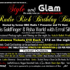 CHRIS GOLDFINGER   LIVE AT STYLE AND GLAM™ LAUNCH PARTY   RUDIE RICH BIRTHDAY BASH 29-09-2012