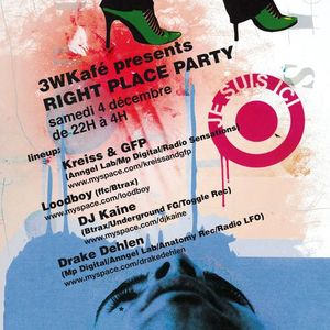 Dj set @ 3W kafé 04 12 2010 (right place party)(tech-house & ...)