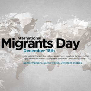 Podcast on Migrants Day 2015