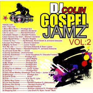 DJ COLIN - GOSPEL REGGAE JAMZ VOL. 2