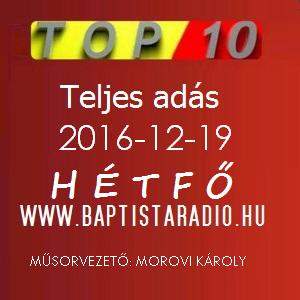 BRTop10   2016.12.19 - 3.Évad 39.Rész