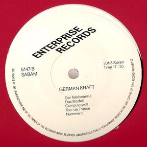 Enterprise Records - (Side B) German Kraft