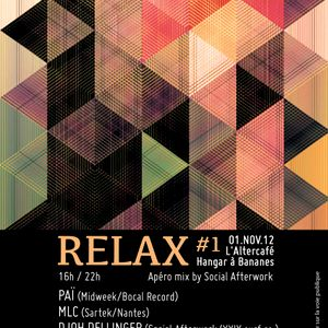Relax #1 by Social Afterwork - PAÏ