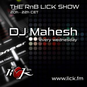 The RnB Lick Show with DJ Mahesh - 5th December 2018