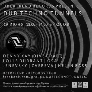 Dub Techno Tunnels – Helen Bass@Brusov, 19-06-2016
