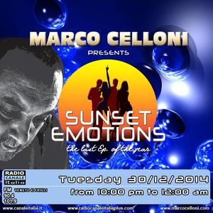 SUNSET EMOTIONS 120.2 (30/12/2014)