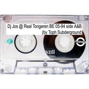 DJ Jos @ Real Tongeren BE 05/1994 (old tape rec. by Toph Subderground)