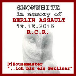 """Dj Housemaster- SNOWWHITE ( ... """" ich bin ein Berliner """" )"""