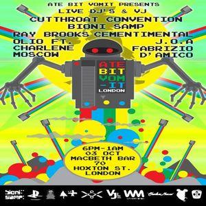 Bioni Samp - DJing at 8BV Macbeth Hoxton London 2012