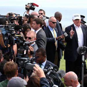 Mediemonstret Trump och Mittmedia-turbulensen