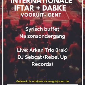 VOEM over IFTAR (+ Praattafels 5/6, + Dabke Feest 9/6) & SUIKERFEEST 15-16/6 @Radio Taxi -Urgent.fm