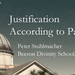 Justification According to Paul