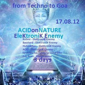 [GOA TRANCE] Hutmacher - Acid on Nature Live Set |18.08.12|