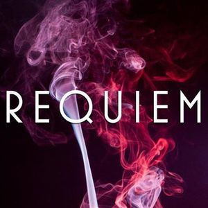 hYpollute playing records live at REQUIEM 2am to 3am 180812