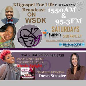 KD Gospel with guest Alexis Spight ( September 16, 2017 )
