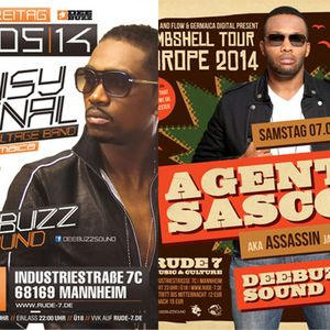 Agent Sasco meets Busy Signal - LIVESNIPPET plus Radiomix