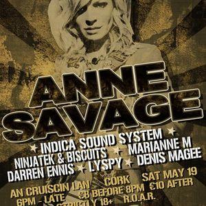 Darren Ennis @ Ibiza Boot Camp Launch Party with Anne Savage, Cruiscin Lan, Cork. 19/05/12