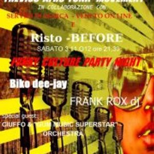 """""""Funky Culture Party"""" RistoBEFORE - Scompa Dj in the mix"""