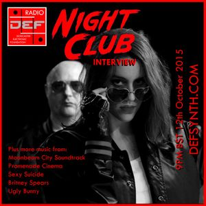 Doncaster Electronic Foundation Radio 9th November 2015 - Night Club Interview