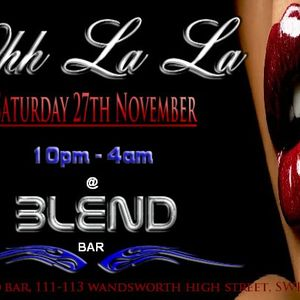 DJ Stickman - Ohh La La @ Blend Bar 27.11.10 Promo CD