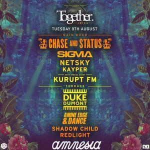 2016.08.09 - Amine Edge & DANCE @ Together - Amnesia, Ibiza, SP