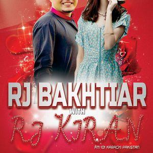 Rj Bakhtiar with Rj Kiran (FM 101 Karachi)