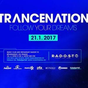 Sean Tyas - Live @ Trancenation (Prague) - 21.01.2017