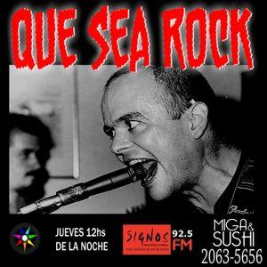 Que Sea Rock - Programa 18 - 07/08/2015 Radio FM signos 92.5