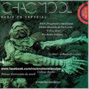 Chac Mool (Carlos Alvarado) en El Rock No Tiene La Culpa 2008 (First Interview)