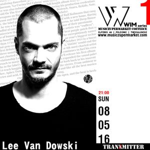 EXCLUSIVE DJ SET by Lee Van Dowski  @ MUSICZUPERMARKET COFFEECE / REDZET TRANSMITTER