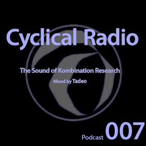 Podcast 007: The sound of Kombination Research. Mixed by Tadeo