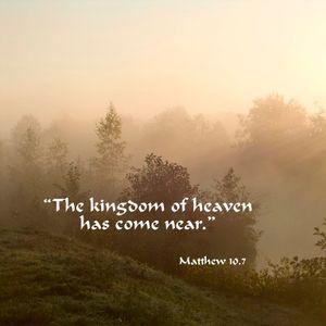The Kingdom of Heaven Is Near - Peter Hamlett - 3rd January 2016