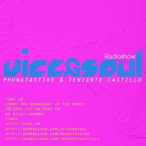 Phunktastike - Vice & Soul 002 On Pure Fm
