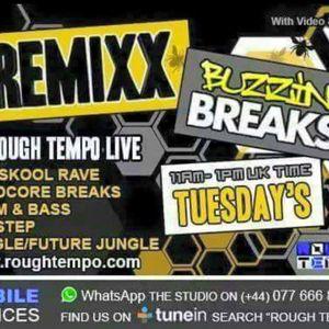 Remixx live on RoughTempo ( DnB show ) 21/4/15